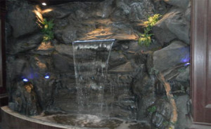 indoor waterfall vancouver bc