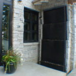 pondless water wall outdoor stone