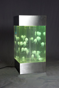 fake jellyfish aquarium