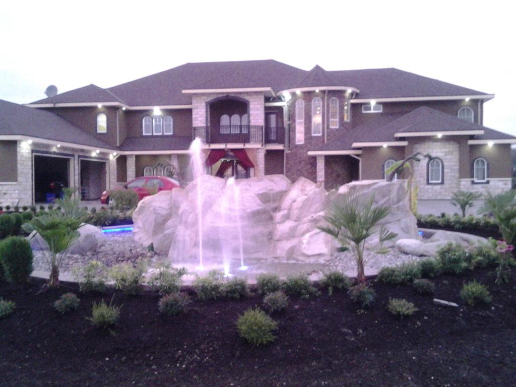 Water fountains calgary - Garden Fountain