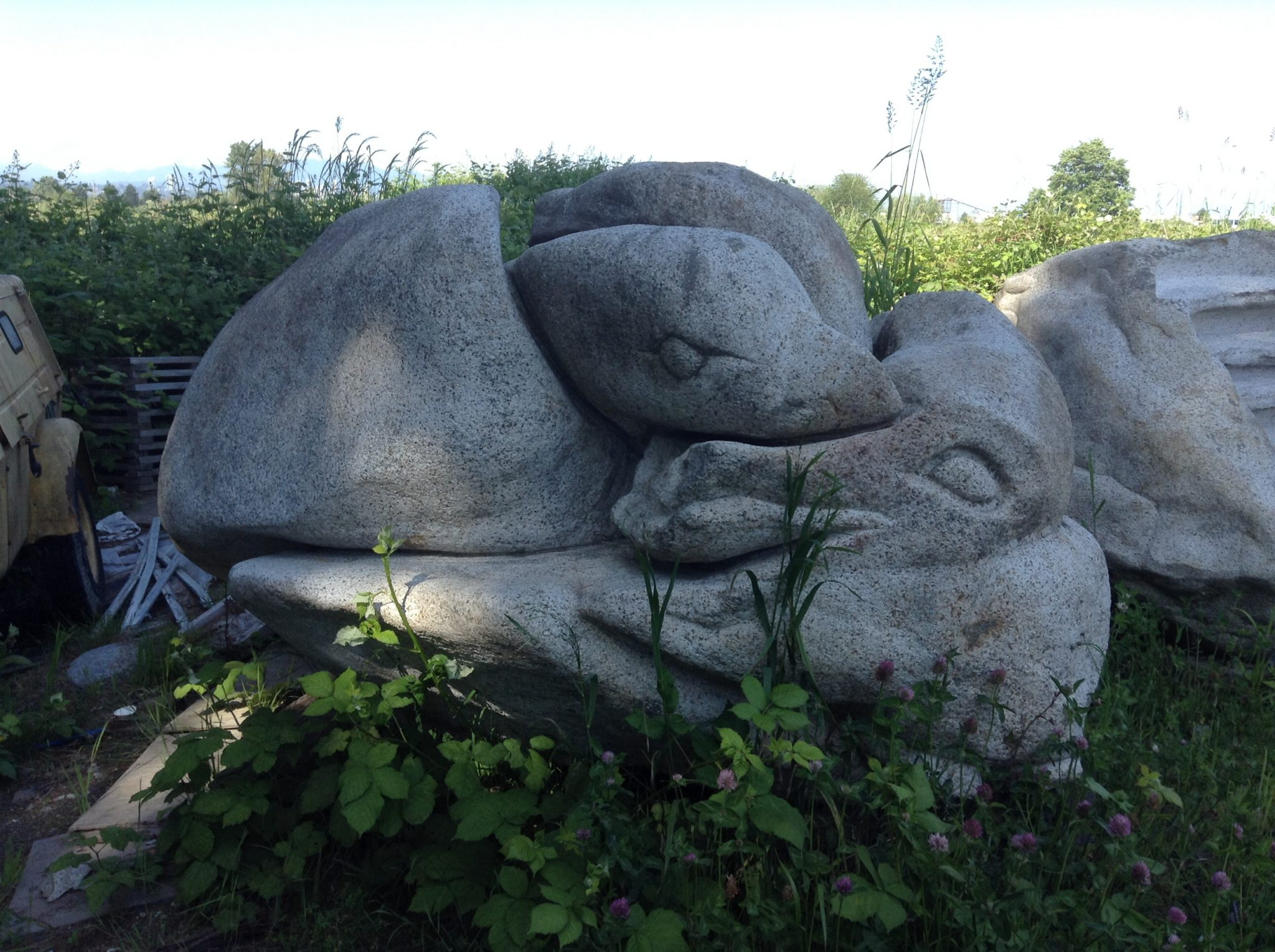 granite sculpture surrey