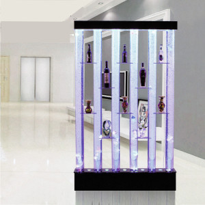 Collector II Shelves Bubble Water Features Decorative Display Partition connecticut, usa