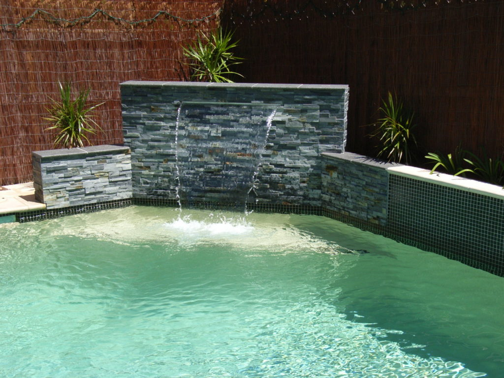 How to keep the water in your pool crystal clear for Waterfall features