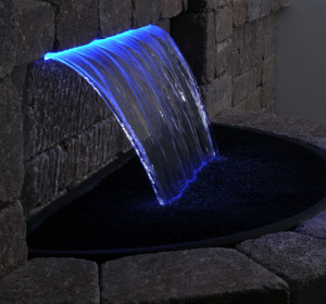 color changing spillway