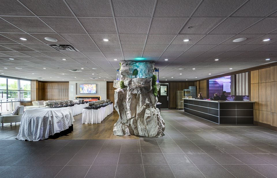 Aria Banquet Hall Surrey Waterfall Now