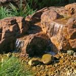bubbler waterfall