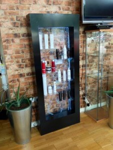 led display case White Rock