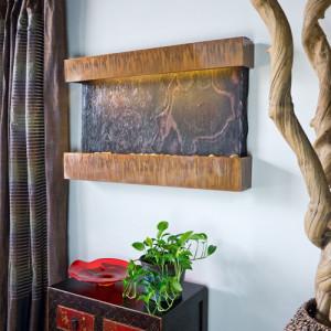 indoor wall mount water feature