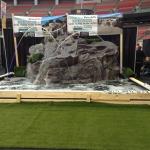 custom rock waterfalls