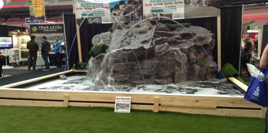 BC Place: Water Features, Waterfalls, And Fountains In Vancouver