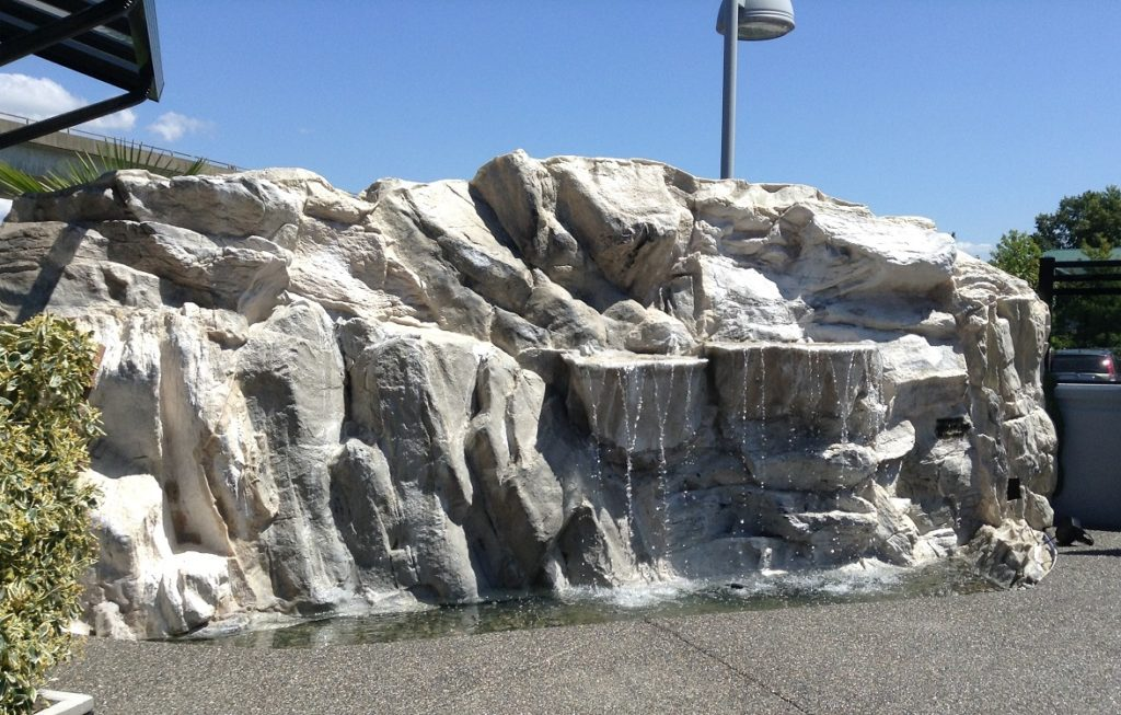 Artificial Rock Waterfalls Custom Water Features Water Walls Fountains Vancouver Bc Canada