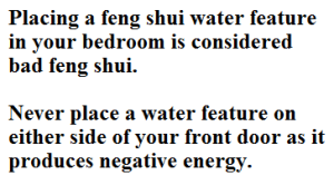 feng shui bad locations