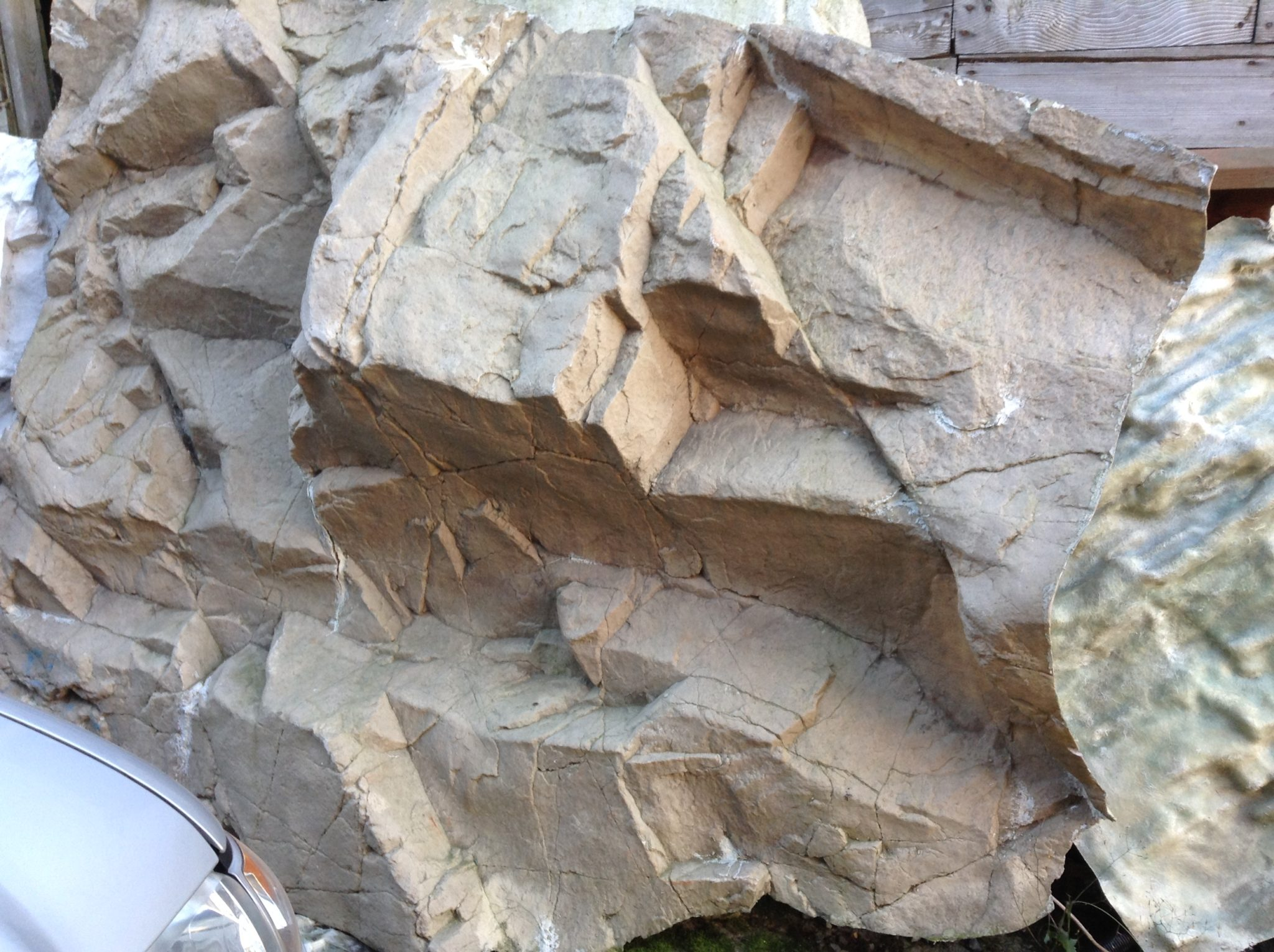 Waterfallnow Fiberglass Artificial Rock Panels