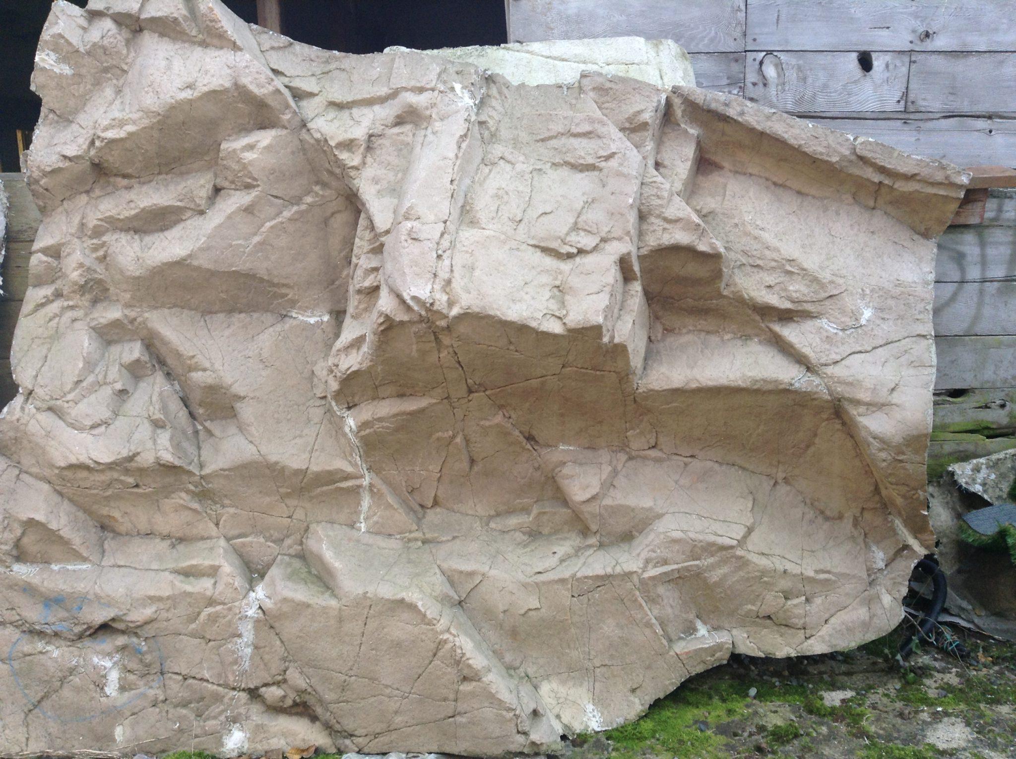 artificial rock panel - Fake Rock