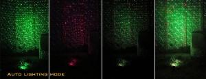 garden laser light red green