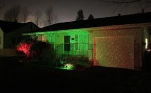 garden waterproof laser light