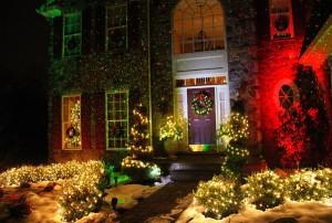 laser christmas decoration light