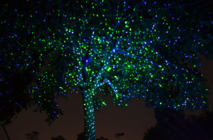laser light projector
