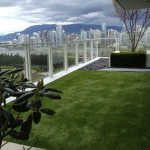 artificial turf on rooftop patio vancouver