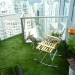 downtown-apartment vancouver- artificial grass fg lawns