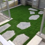 garden walkway artificial grass