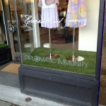 retail display artificial grass vancouver