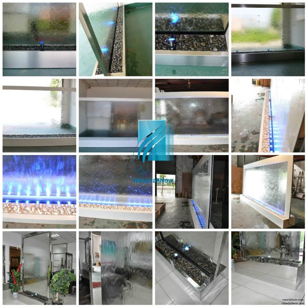 waterfallnow indoor metal floor fountains