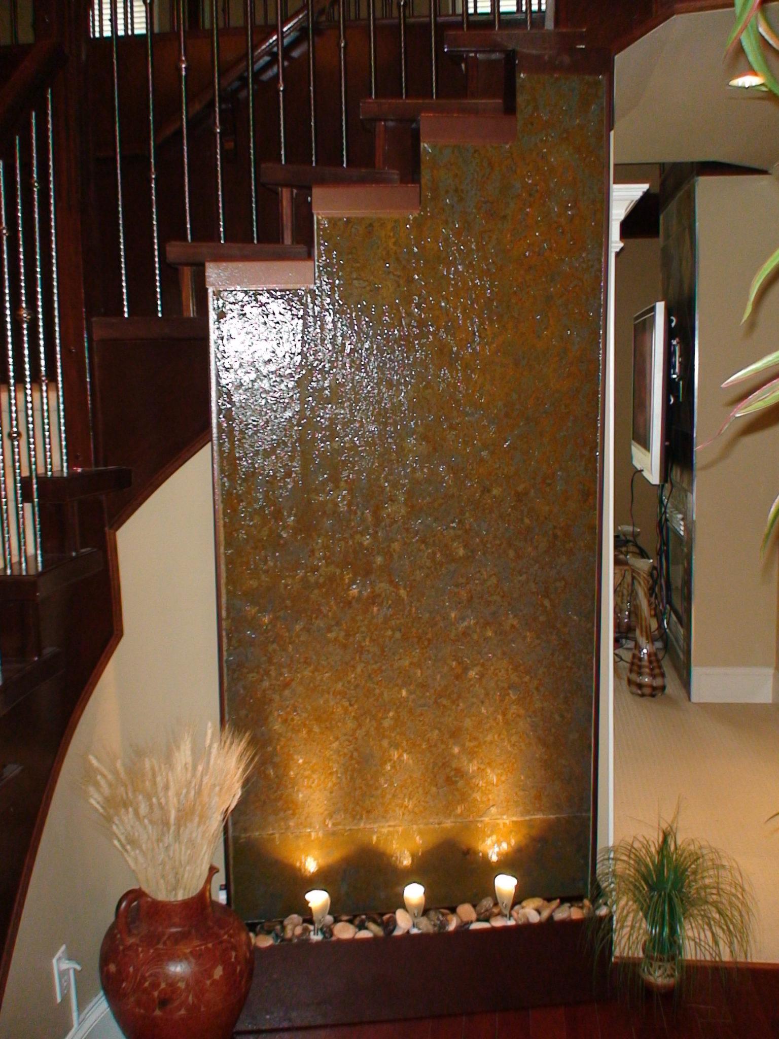 Water Fountain Indoor: Indoor Water Features, Waterfalls, Fountains