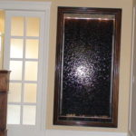 indoor stone water wall fountain