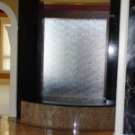 indoor waterfall lobby meeting lounge bar fountain