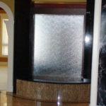 indoor waterfall lobby meeting lounge bar fountain
