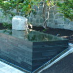 reflection pool water features