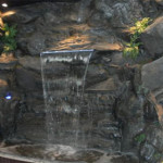 indoor water feature