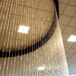 rain curtain showroom