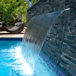 waterfall spillway