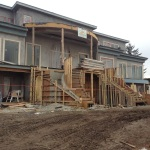 1413 Sandhurst - Water Features Construction Underway
