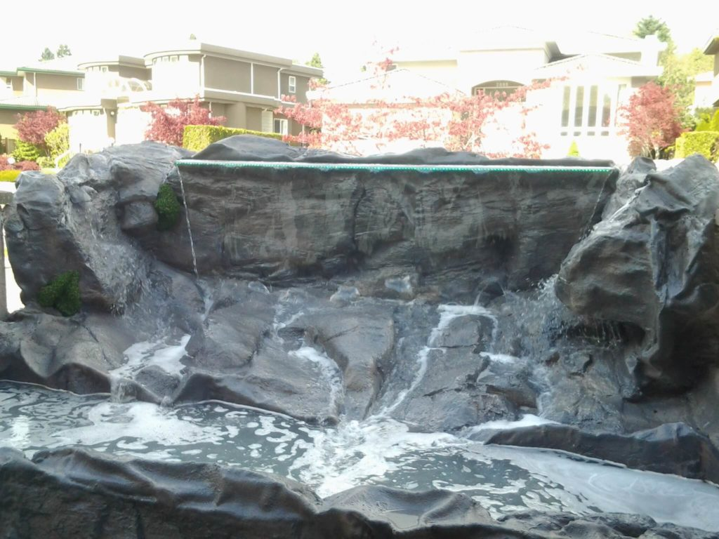 Waterfallnow Water Features Waterfalls Fountains Surrey Vancouver