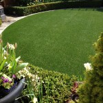 frontyard artificial grass ideas