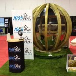 artificial grass indoor tradeshow display booth