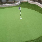 putting green in vancouver made with artificial grass