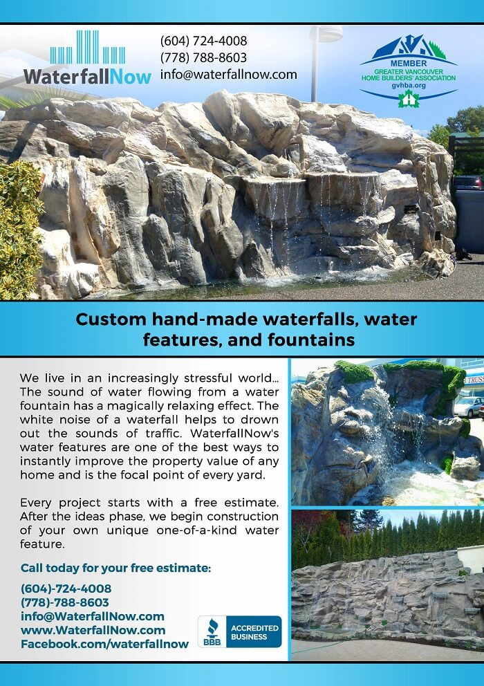 landscaping vancouver waterfallnow