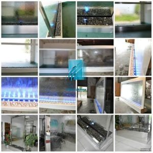 divider fountain partition