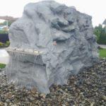garden artificial rock waterfall richmond