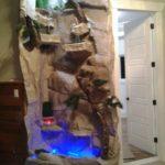 aquarium rock waterfall