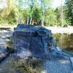 backyard pond waterfall feature