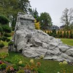 garden rock waterfall