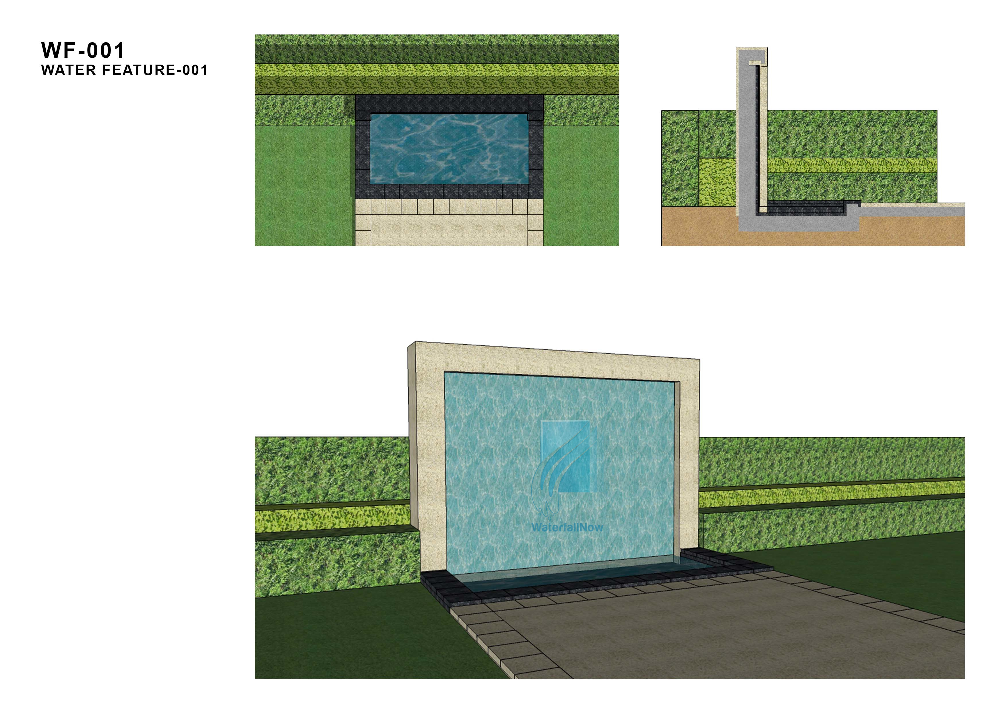 waterwall design aa