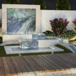marble water wall water feature