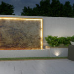 marble water wall