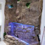 indoor waterwall faux rock